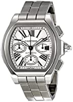 Cartier Men's W6206019 Roadster Silver Dial Watch by Cartier