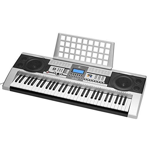 Electronic Piano Digital Lcd Display Keyboard Portable 61 Key Music Board Electric Organ