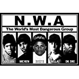 N.W.A.-World's Most Dangerous Group, Music Poster Print, 24 by 36-Inch