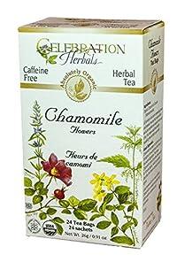 Celebration Herbals Organic Chamomile Flowers Tea 24 Bag(S)