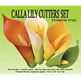 Calla Lily Gumpaste Cutter Set