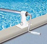 Deluxe Above Ground Pool Solar Reel Up To 28 ft. Wide