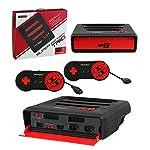 Retro Bit Super Retro Trio 3 in 1 Console Red/Black, NES/SNES/Mega Drive PAL Version