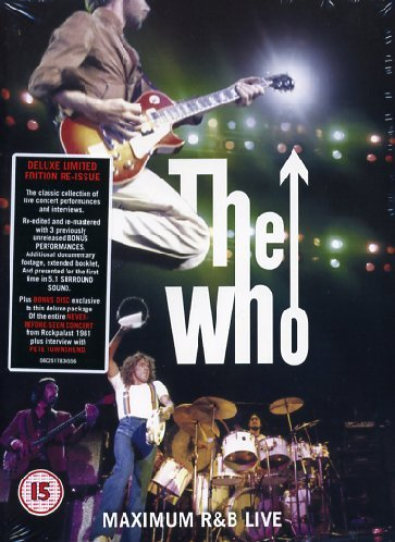 The Who - Maximum R&B live (deluxe limited edition)