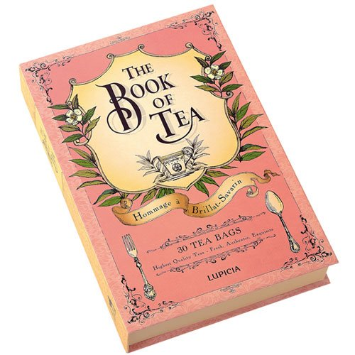 "LUPICIA THE BOOK OF TEA ""Hommage à Brillat-Savarin"" ルピシア ブックオブティー"
