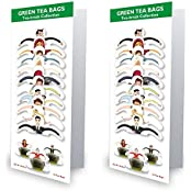 99 Tea Plain Tea Green Tea (10 Sachets, Pouch) - B01IZ6YVXW