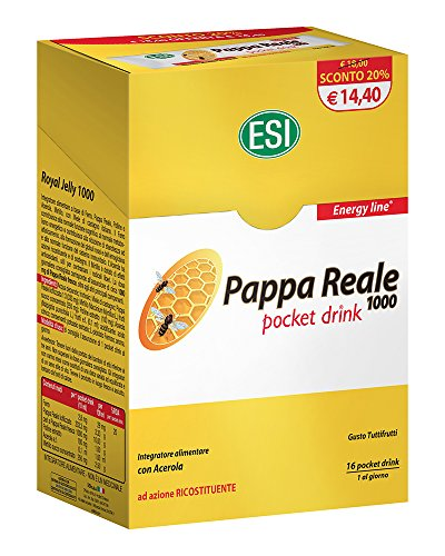 Esi Pappa Reale Integratore Alimentare - 16 Pocket Drink