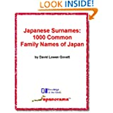 Japanese Surnames: 1000 Common Family Names of Japan (Knowledge of the Nerds)