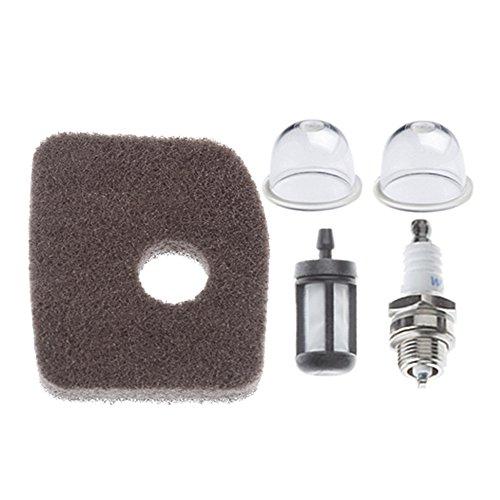 HIPA 4241 120 1800 Air Filter with Primer Bulb Fuel Filter Spark Plug for STIHL BG56 BG66 BG86 SH56 SH86 BR200 Blower (Stihl Blower Shredder Vac compare prices)