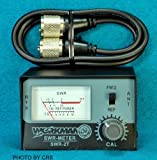 SWR METER for CB Radio Antennas with 3' Jumper cable - Workman SWR2T & CX-3-PL-PL