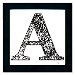 A Monogram Pen & Ink