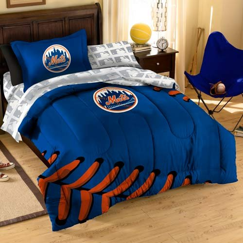 MLB New York Mets Bedding Set, Twin at Amazon.com