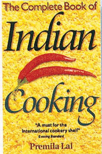 Complete Book of Indian Cooking