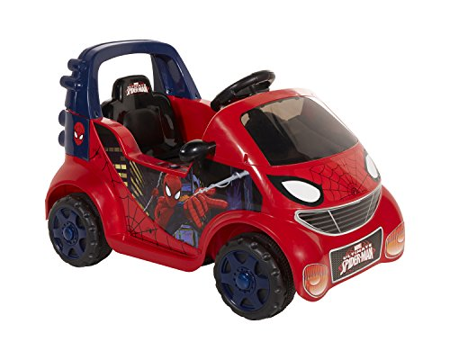 Spider Man Ride On Toys Babies Todler Cars Spiderman 6V ...