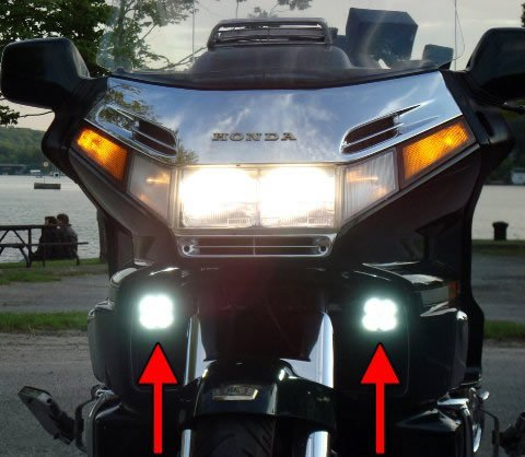 Led Driving Lights For Motorcycles