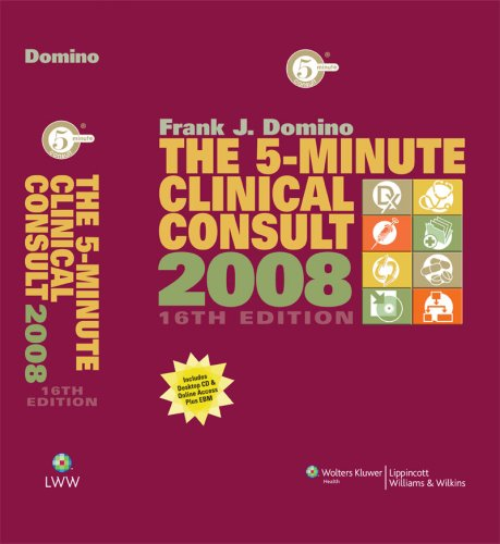 The 5-Minute Clinical Consult, 2008 (The 5-Minute Consult Series) front-1007056