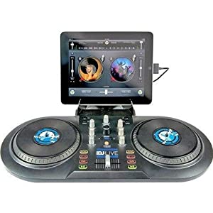 Numark iDJ Live DJ Controller for iPad, iPhone or iPod Touch (30-pin)