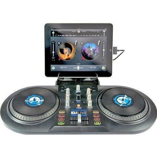 Numark iDJ Live | DJ Controller for iPad, iPhone or iPod Touch (30-pin) (Numark Portable Dj Controller compare prices)