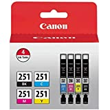 JETDIRECT Compatible Ink Cartridge Replacement Set for Canon CLI-221 Pack of 2: 2 C-221 Gray