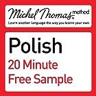 Michel Thomas Method: Polish Course Sample Hörbuch von Jolanta Cecula Gesprochen von: Jolanta Cecula