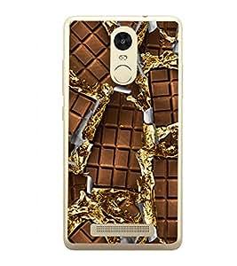 Chocolate 2D Hard Polycarbonate Designer Back Case Cover for Xiaomi Redmi Note 3 :: Xiaomi Redmi Note 3 Pro :: Xiaomi Redmi Note 3 MediaTek