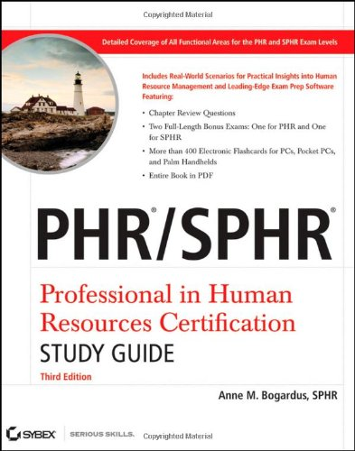 PHR / SPHR Professional in Human Resources Certification...