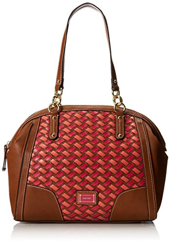 Nine West Shopstp Satchel,Tobacco Multi,One Size