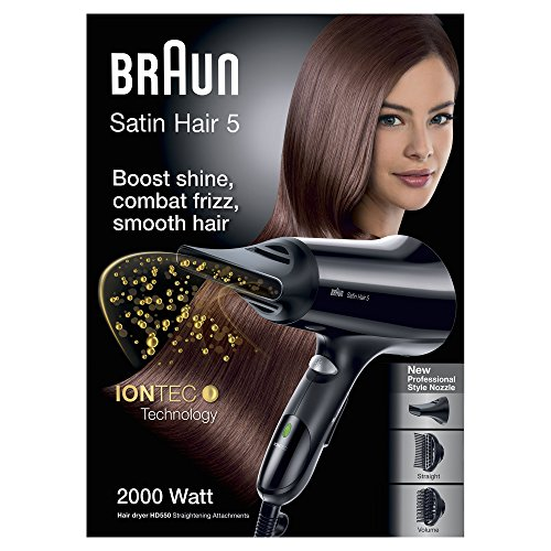 neuf braun s che cheveux satin hair 5 hd550. Black Bedroom Furniture Sets. Home Design Ideas