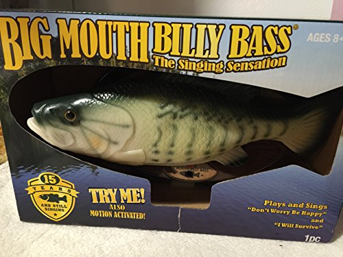 Big Mouth Billy Bass Decoration ビッグ マウ...