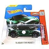 Hot Wheels Hw Race 185/250 15 Jaguar F Type Project 7 On Short Card