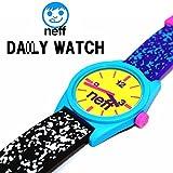 2458 neff / ネフ リストウォッチ Watch Multi Spreckle (黒×パープル)