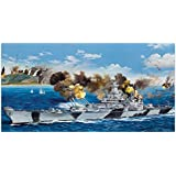 Trumpeter USS Iowa BB61 Battleship Battle of Leyte Gulf 1944 Model Kit (1/200 Scale)