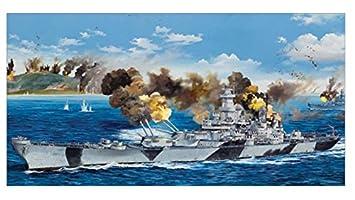 "Maquette Navire : Cuirassé USS BB-61 ""IOWA"" 1944"