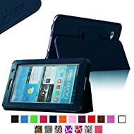Fintie Slim Fit Folio Case Cover For Samsung Galaxy Tab 7.0 Plus / Samsung Galaxy Tab 2 7.0 Tablet - Navy