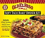 Old El Paso Dinner Kits, Soft Tacos, 8.7-Ounce Boxes (Pack of 12)
