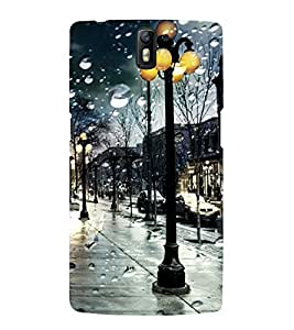 Rainy day Back Case Cover for One Plus One::One Plus1
