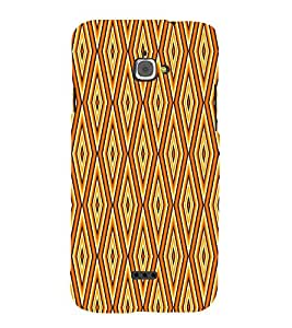 Abstract Pattern 3D Hard Polycarbonate Designer Back Case Cover for InFocus M350