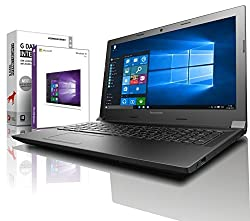Lenovo (15,6 Zoll) Notebook (Intel Pentium N3540 Quad Core 4x2.66 GHz, 8GB RAM, 250GB SSD, Intel HD Graphic, HDMI, Webcam, Bluetooth, USB 3.0, WLAN, Windows 10 Professional 64 Bit) #5026
