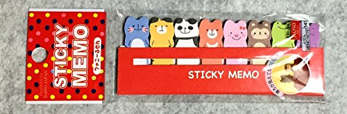 funny-animals-sticker-post-it-bookmark-marker-memo-flags-index-tab-sticky-notes