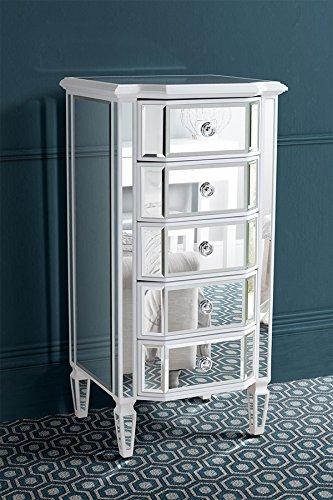 MY-Furniture - Cassettiera alta a Specchio - serie LEONORE