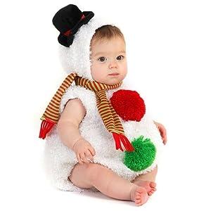 Snowman Bubble Body (6 - 12 Months)