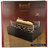 HoMedics Illumine Harmony Luminous Tabletop Fireplace, Black (Health and Beauty) By Homedics          2 used and new from $50.39     Customer Rating:       First tagged