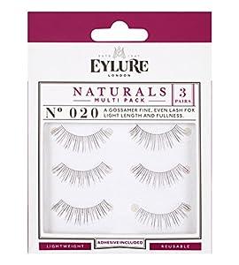 Eylure Naturalites Strip Eyelashes Naturalites 020 Multi Pack - 6001118