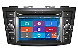 See Crusade Car DVD Player for Suzuki Swift 2011 2012 2013 2014 Support 3g,1080p,iphone 6s/5s,external Mic,usb/sd/gps/fm/am Radio 7 Inch Hd Touch Screen Stereo Navigation System+ Reverse Car Rear Camara + Free Map Details