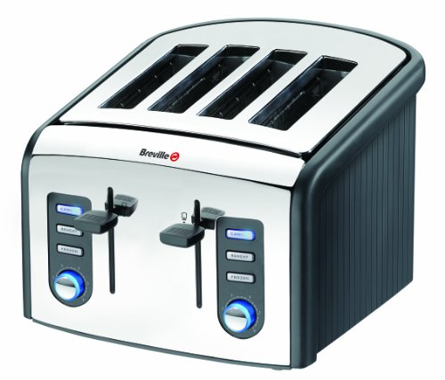 Breville VTT215 Stainless Steel 4 Slice Toaster by Breville