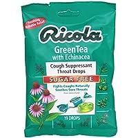 Ricola, Green Tea With Echinacea Sugar Free 19 Drops