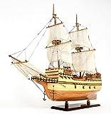 メイフラワー号 1620 イギリス 貨物船 31インチ 模型 完成品 [並行輸入品]
