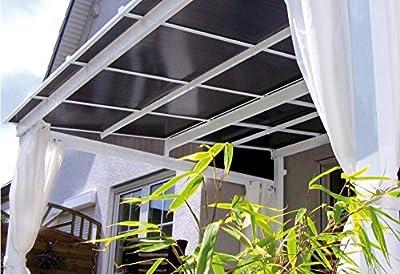 Leco Seitenteile zur Terrassenüberdachung Art. 13670100, 4-er-Set von Leco auf Gartenmöbel von Du und Dein Garten