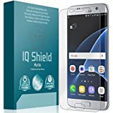 Galaxy S7 Edge Screen Protector, IQ Shield® Matte Full Coverage Anti-Glare Screen Protector for Galaxy S7 Edge Bubble-Free Film - with Lifetime Warranty