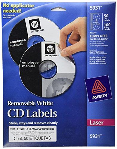 avery laser labels shuttered jewel case inserts with